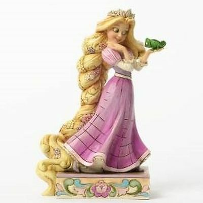 New Enesco Disney Traditions Rapunzel and Pascal