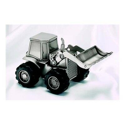 New CGI Front Loader Bank, Pewter Finish