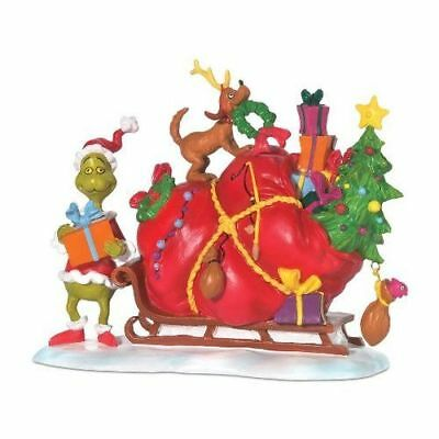 New Dept56 The Grinch's Small Heart Grew