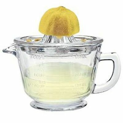 New Artland Durable Glass Measuring Cup With Juicer Top