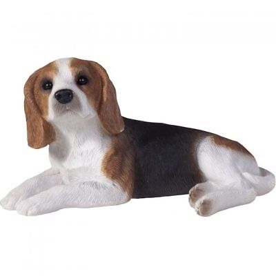 New Sandicast Lying Beagle Ornament