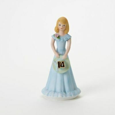 New Enesco Growing Up Girls Figurine, Blonde, Age 14