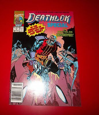 Deathlok Special Volume 1 #3 Book 3 - Dam If He Don't - Exc Cond Bagged - 1991