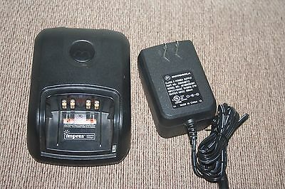 Motorola WPLN4243A IMPRES Charger Tray for MOTOTRBO w/Power Supply