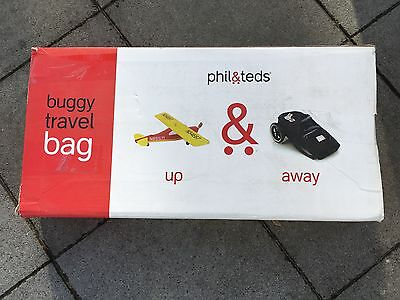 Phil&Teds up and away Buggy Reisetasche travel bag phil & teds für Vibe black