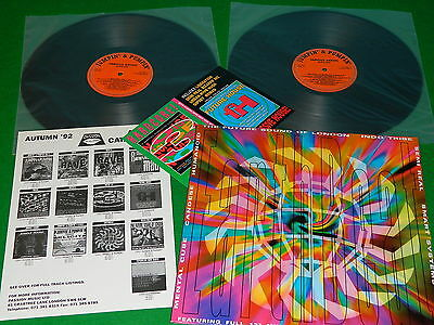 VARIOUS : Earthbeat - Original double LP EX Mental Cube Indo Tribe Yage Humanoid