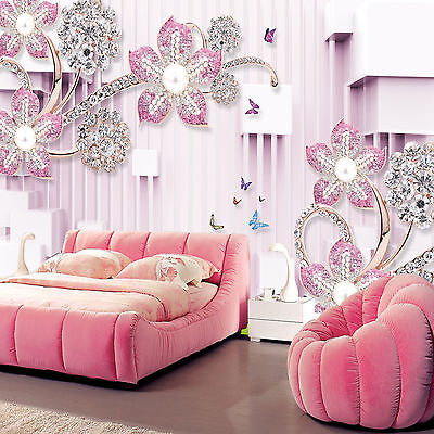 3d lila blumen 13 fototapeten wandbild fototapete bild. Black Bedroom Furniture Sets. Home Design Ideas