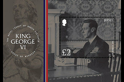Jersey 2017 King George VI Legacy Queen Victoria Windsor uniform military ms1v