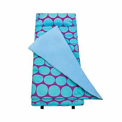 Wildkin Big Dots Aqua Nap Mat Wildkin Big Dots Aqua Original Nap Mat New