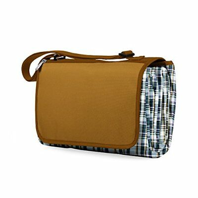 PICN-920001090000-Picnic Time Outdoor Picnic Blanket Tote XL, English Plaid