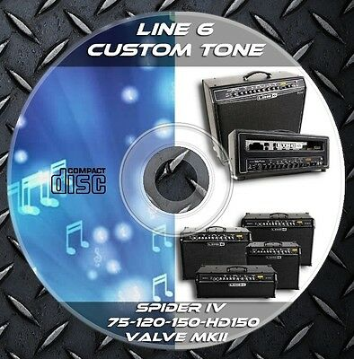 1.651 Patches Line6 Spider IV 75-120-150-HD150 & Valve MKII-HD100-112-212 Tone
