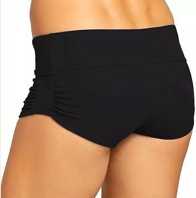NEW WITHOUT TAG $49 ATHLETA Shirred Short BOTTOM 439110 S76
