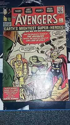 The Avengers #1 (Sep 1963, Marvel) authentic! Beautiful Copy!