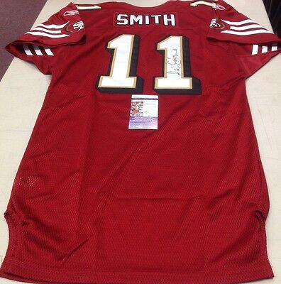 Alex Smith Autographed Signed 49ers 2008 GAME ISSUE JERSEY JSA
