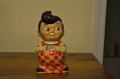 Big Boy Burger Diner Plastic Coin Bank Drive Inn Icon