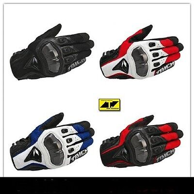 RS Taichi RST391 Perforated leather Motorcycle Mesh Gloves Black Red White Blue