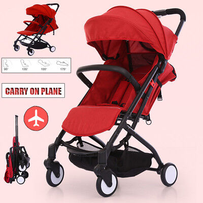 4 IN 1 Newborn Carriage Infant Travel Car Foldable Pram Baby Stroller Bassinet