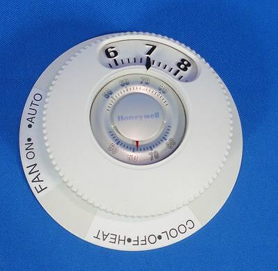 Large Easy Read Honeywell T87N102 Thermostat Heat Air Conditioning Round Dial