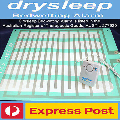 LARGE DrySleep Bedwetting Mattress Alarm,NON-INVASIVE Bed Wetting Enuresis Child