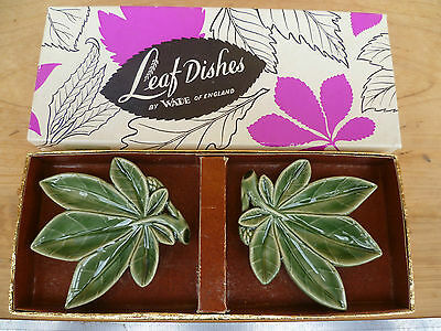 Vintage Old English Made Wade Dishes Set '2' In Box, (130)