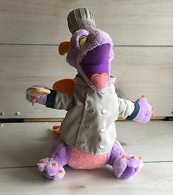 A18 Disney Epcot Food & Wine Festival 2015 Chef Figment Plush! W/ Tags! Japan