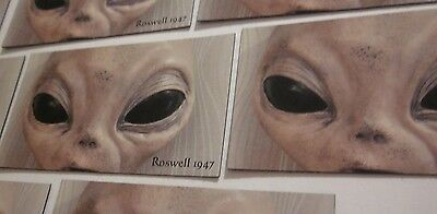 """Magnets Roswell1947 Ufo Alien Souvenir Set Of """"2"""" Combo Collectibles #70"""