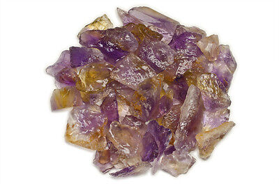 1 lb Wholesale Ametrine Rough Stones - Small Size - Unheated from Bolivia!
