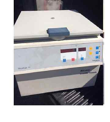 Hereaus instruments, Baxter scientific products  Megafuge1.0 centrifuge
