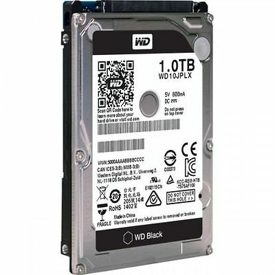 "WD Black 1TB Hard Drive SATA3 9.5mm 2.5"" 7200RPM 6Gb/s 32MB Cache"