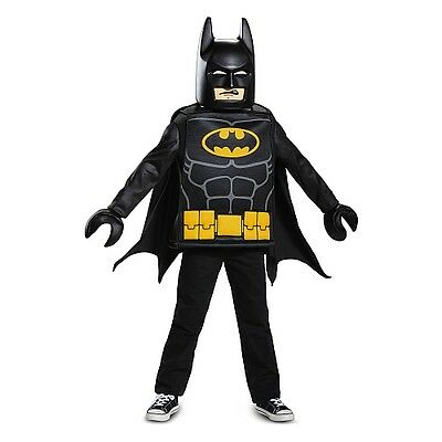 NEW! Boys LEGO Batman Movie Deluxe Child Halloween Costume- Boys Size Medium 7-8