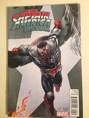 All New Captain America Special # 1 Variant NM