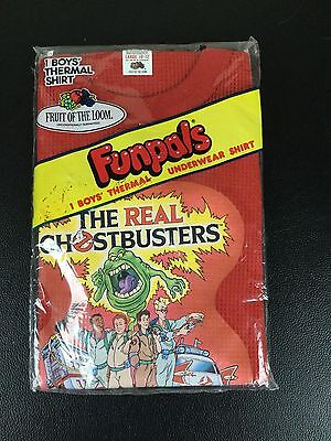 The Real Ghostbusters FunPals Thermal Shirt (Red) -- NOS & Factory Sealed