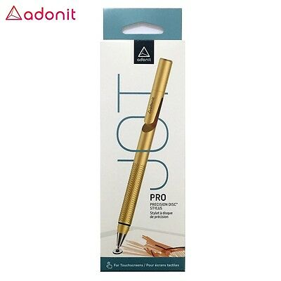 Adonit Jot Pro 2015 Fine Precision Tip Stylus for iPad iOS Android Gold MP
