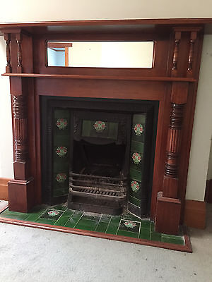 Victorian Fire Place & Mantle