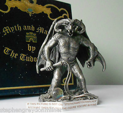 Myth And Magic Lotr Hobbit - Balrog Boxed Figure By Tudor Mint Rare