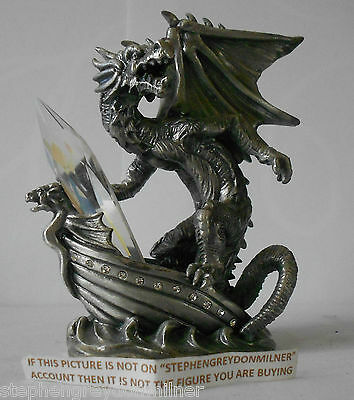 Myth And Magic - Dragon Of The Ocean Figure By Tudor Mint Rare
