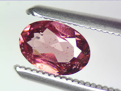 0.56 Ct Natural Purple Rhodolite Garnet Loose Gemstones Oval Cut 6.06 X 4.20 Mm