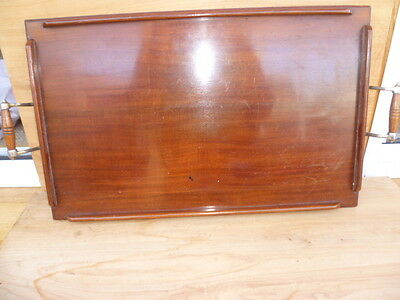 Old Large Size Blackwood Tasmanian Timber Serving Tray '650Mmx350Mm (A298)