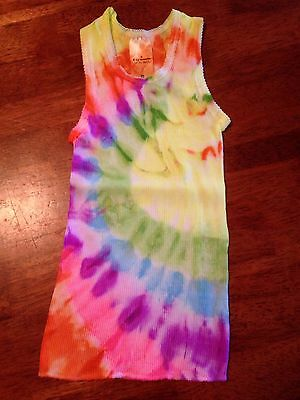 BABY GIRL SINGLET SIZE 0. TIE DYE. A Comfy Starbuttz Hand Dyed Singlet. For����