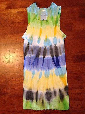 BABY BOY SINGLET SIZE 0. TIE DYE. A Comfy Starbuttz Hand Dyed Singlet. For.��