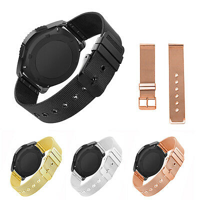 Stainless Steel Milanese Watch Band Strap Buckle for Samsung Gear S2 S3 Classic