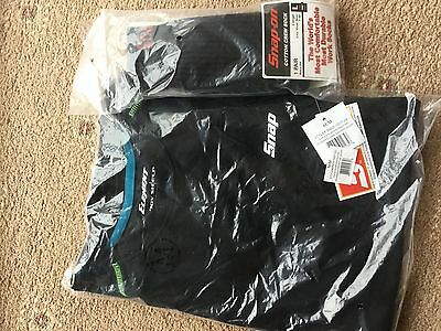 Job lot.Snap On Tools Shirt and snap on work socks brand new and sealed BARGAIN