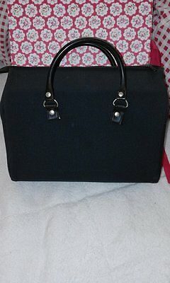 coach built dolls pram bag with fixing straps  in navy .