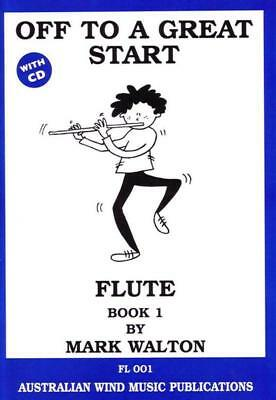 Off To A Great Start Flute Book 1 Book & Cd