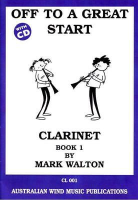 Off To A Great Start Clarinet Book 1 Book & Cd