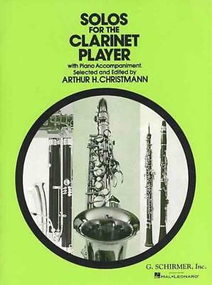 Solos For The Clarinet Player Clarinet Piano