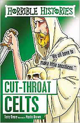 Cut-throat Celts (Horrible Histories), New, Deary, Terry, Brown, Martin Book