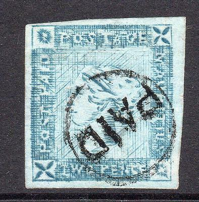 Mauritius Early 2 Pence Stamp c1859 Fine Used (S107)