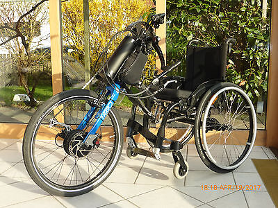 handbike praschberger e bike 350 watt rollstuhl otto bock ventus eur picclick de. Black Bedroom Furniture Sets. Home Design Ideas