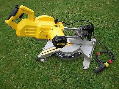 New Shape Model DW777 LX Dewalt Telescopic Slide Chop Mitre saw dw707